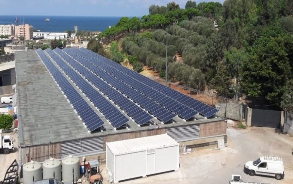 EEG has completed the installation of a 235KWp PV Plant at the Delta Trans facility in Lebanon